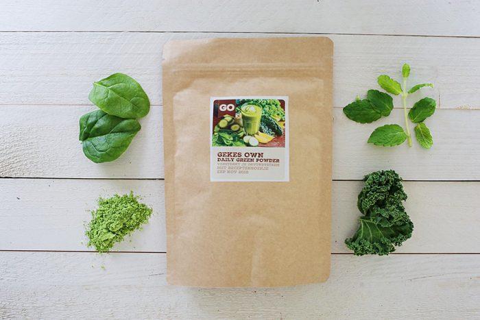 Juicy Detox - Green powder