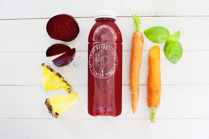 Juicy Detox - Red juice